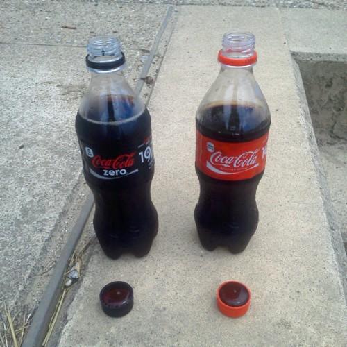 コーラ並び立つ