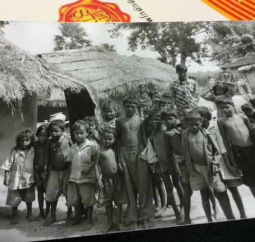 インド村子供